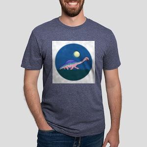 Cartoon 65-FIN Mens Tri-blend T-Shirt