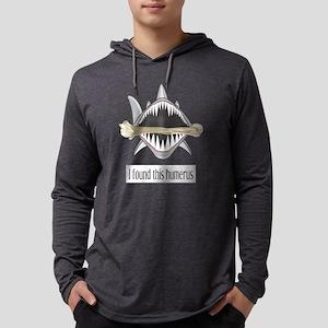 Funny Shark Mens Hooded Shirt