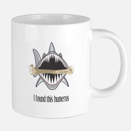 Funny Shark 20 oz Ceramic Mega Mug