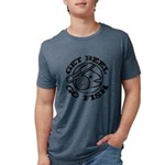 FIN-get-reel-go-fish-black Mens Tri-blend T-Sh