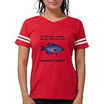FIN-crappie-dad-fishing Womens Football Shirt