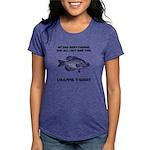 FIN-crappie-dad-fishing Womens Tri-blend T-Shi