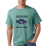 FIN-crappie-mom-fishing Mens Comfort Colors Sh