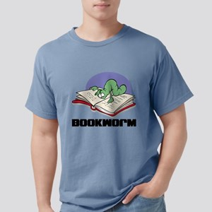 FIN-bookworm Mens Comfort Colors Shirt