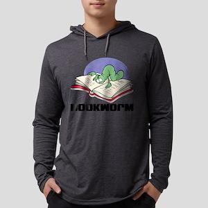 FIN-bookworm Mens Hooded Shirt