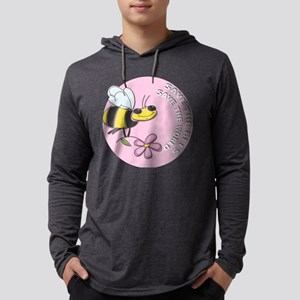 Save The Bees Mens Hooded Shirt