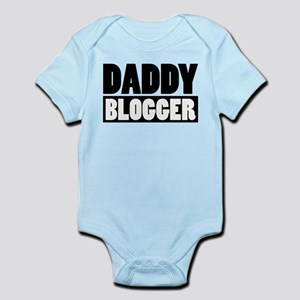 Daddy Blogger Stacked Infant Bodysuit