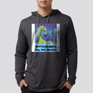 FIN-cryptozoologists-monsters Mens Hooded Shir