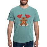 FIN-teddy-bear-hearts Mens Comfort Colors Shir