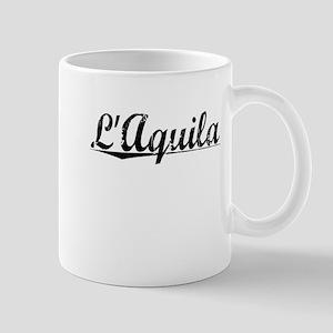 L'Aquila, Aged, Mug
