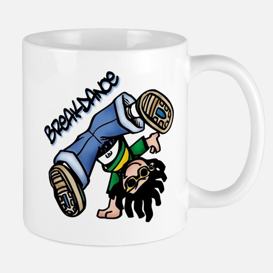 Breakdance Large Mugs