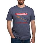 Mangia e Statti Zitto Mens Tri-blend T-Shirt