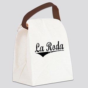La Roda, Aged, Canvas Lunch Bag