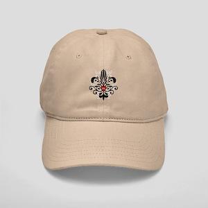 New Orleans Fleur Heart Cap