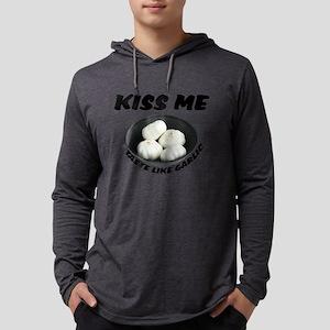 FIN-kiss-taste-garlic Mens Hooded Shirt