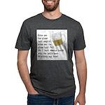 FIN-glass-half-full.png Mens Tri-blend T-Shirt