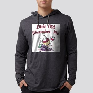 FIN-red-winemaker Mens Hooded Shirt