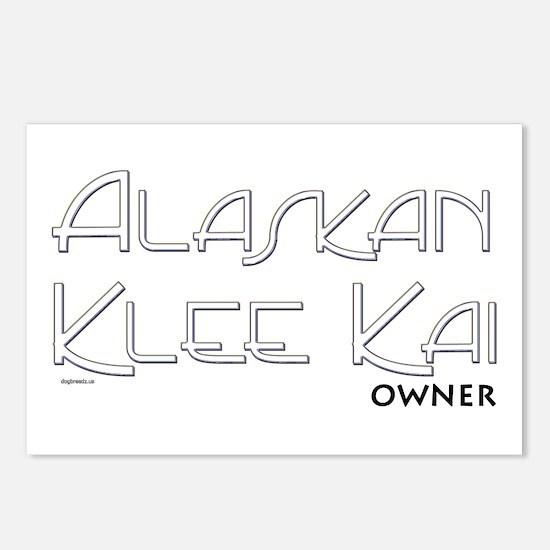 Alaskan Klee Kai Owner Postcards (Package of 8)