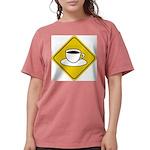 coffee-crossing-sig... Womens Comfort Colors Shirt