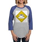 coffee-crossing-sig... Womens Baseball Tee
