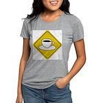 coffee-crossing-sig... Womens Tri-blend T-Shirt