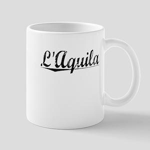 LAquila, Aged, Mug