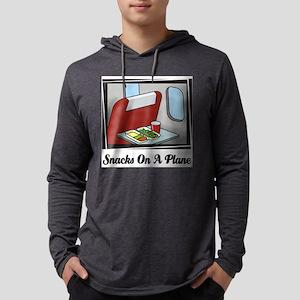 Snacks On A Plane Mens Hooded Shirt