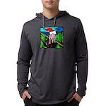 the-scream.jpg Mens Hooded Shirt