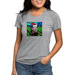 the-scream.jpg Womens Tri-blend T-Shirt