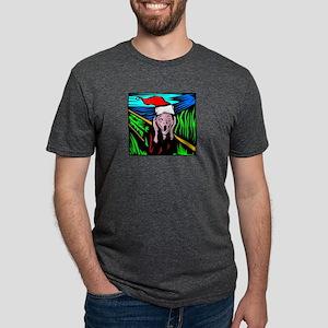 the-scream Mens Tri-blend T-Shirt