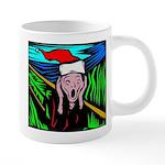 the-scream.jpg 20 oz Ceramic Mega Mug