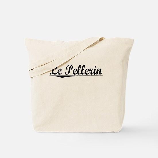 Le Pellerin, Aged, Tote Bag
