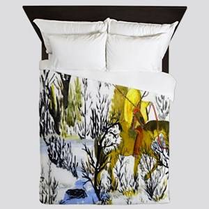 Native American Warrior Queen Duvet