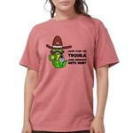 Tequila Humor Womens Comfort Colors Shirt