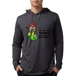 Tequila Humor Mens Hooded Shirt