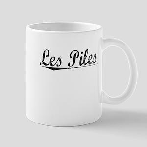 Les Piles, Aged, Mug