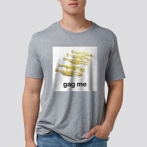 FIN-rubber-chicken Mens Tri-blend T-Shirt
