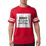 stupid-people.png Mens Football Shirt
