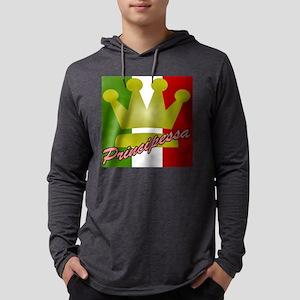principessa Mens Hooded Shirt