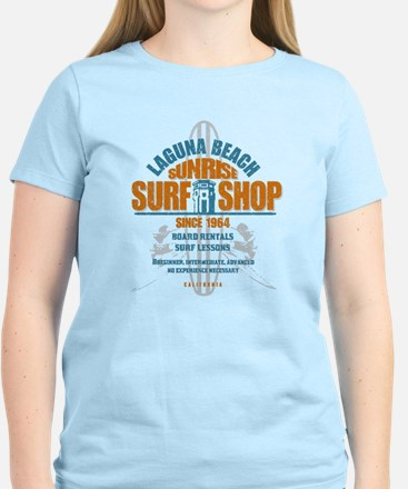 Laguna Beach Surf Shop Women's Light T-Shirt