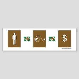"""Firm Economics"" Sticker (Male)"
