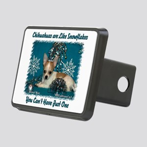 Chi's are like snowflakes Rectangular Hitch Cover