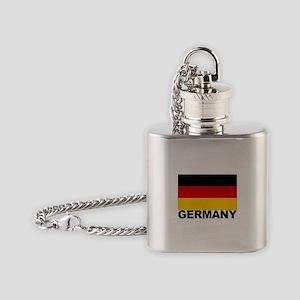 germany_b Flask Necklace