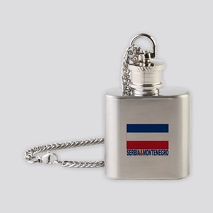 serbia-and-montenegro_b Flask Necklace