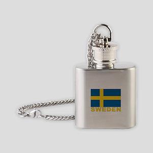 sweden_b Flask Necklace