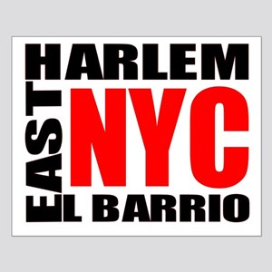 East Harlem NYC Small Poster