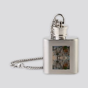 Farm Deer Flask Necklace