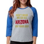Arizona Baseball Womens Baseball Tee