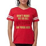Arizona Baseball Womens Football Shirt