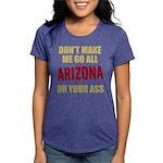 Arizona Baseball Womens Tri-blend T-Shirt